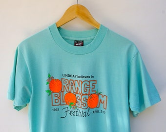 Orange Blossom Festival T shirt