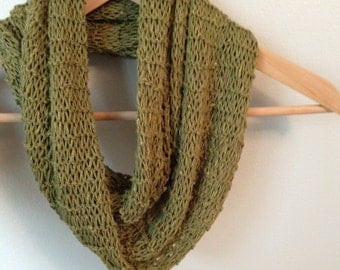 Quick and Easy Infinity Scarf Knitting Pattern