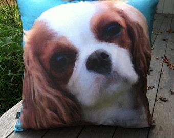 Custom Pop Art Pet Pillow From Your Photo