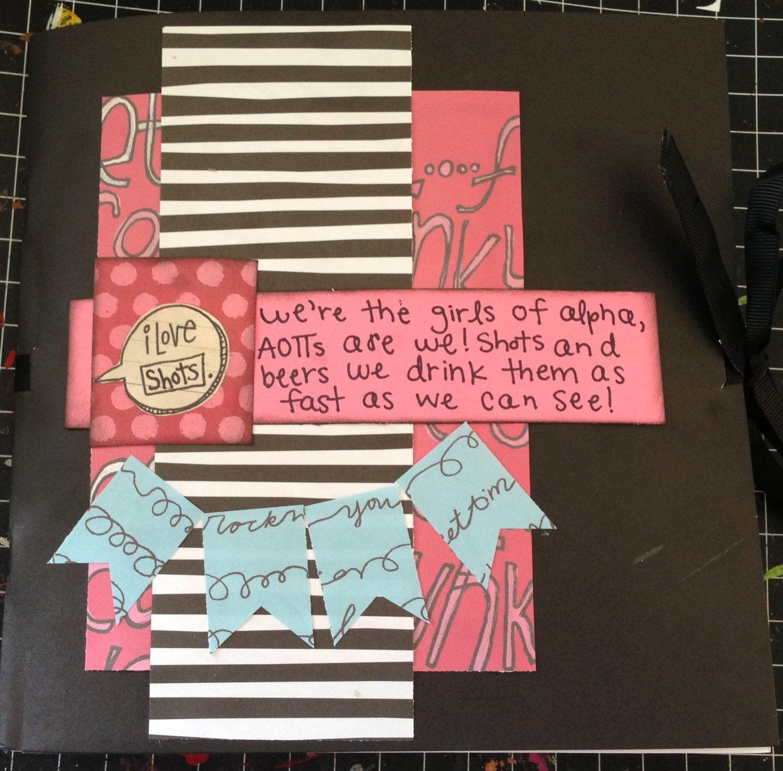 21st Birthday Shot Book From LiveLaughScrapaw On Etsy Studio
