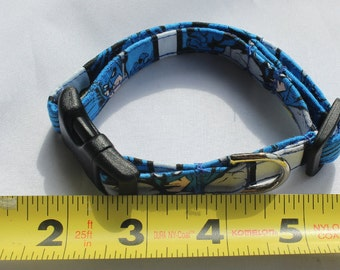 Mini Batman Dog Collar Comic Size XS, S