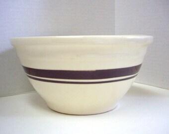 Vintage McCoy Pottery mixing bowl #10