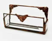 Business Card Holder Beveled Glass