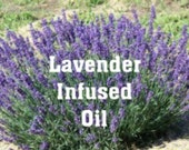 Organic Lavender infused oil - 2 oz.