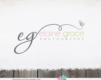 premade logo -logo design photography logo photographer logo premade logo design butterfly logo photography watermark initials logo design