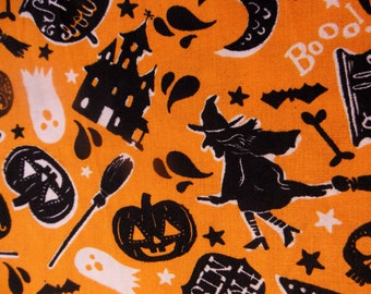 RETRO HALLOWEEN ~ Witches ~ Black Cats ~ Pumpkins ~ Haunted House ~ Ghosts ~ Bats  ~  Bones and Skulls  ~ Potions