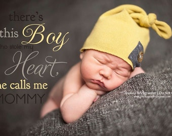 Star patch beanie, heart patch beanie, newborn photography prop, hospital hat, baby hat