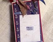 Sail Away With Me Nautical Travel Envelope Album