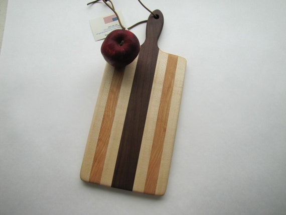 Wood Bread Board With Handle Cutting Board For The Kitchen