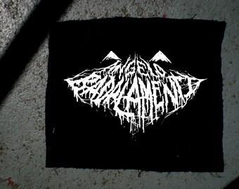 Angelo Badalamenti Twin Peaks black metal patch BLACK LODGE METAL