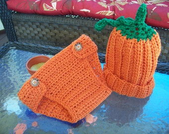 Pumpkin Baby Set