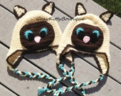 Siamese Cat Hat - All Sizes