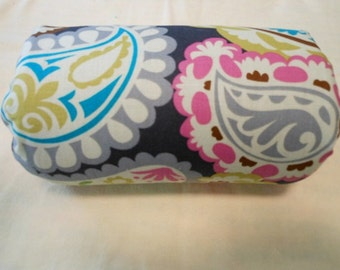 Roco Beat Paisley Infant Carrier Arm Pad/Handle Cover (Your Choice of Minky)
