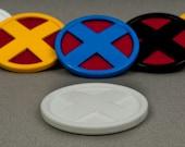 X-Medalion Xmen Cosplay Badge Emblem Logo (LARGE) Wolverine