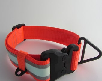 Glow in the Dark ITW GT Cobra Buckle Reflective dog collar
