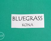 One Yard Bluegrass Kona Cotton Solid Fabric from Robert Kaufman, K001-1031