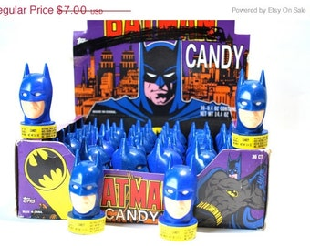 3 Batman Candy Containers by Topps 1991