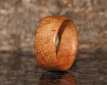 Plum  Wood Ring -Any size - Wood Ring