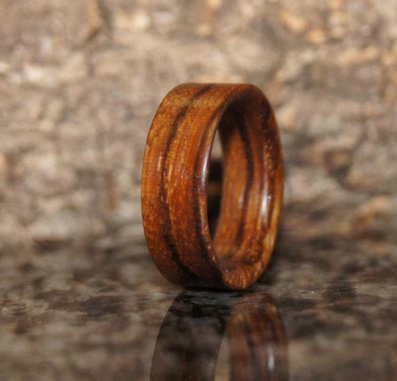 Zebra Wood Ring Any size