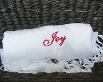 Gift For Women, Personalized Shawl, 3 pcs.