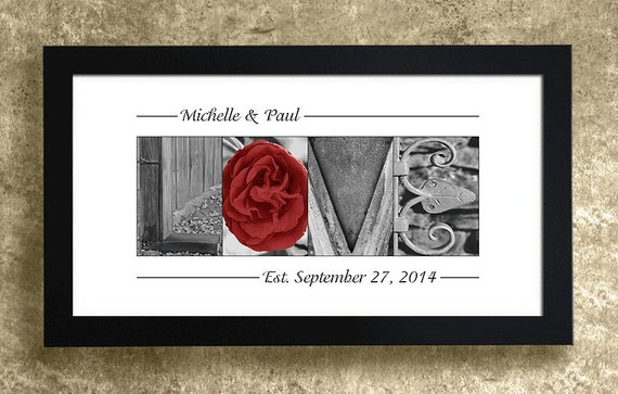 Unique Wedding Gifts For Wife : Anniversary Gift, Gift for Wife, 1st Anniversary Gift, Wedding Gift ...