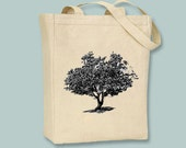 Strawberry Tree Canvas Tote - Selection of sizes available