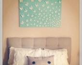 3D Wall Art White Butterflies -Set of 100
