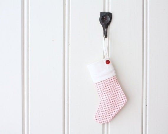 Finnish gingham stocking