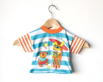 kid's vintage 80s BEARS in the SUN t shirt top