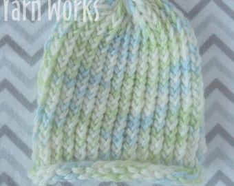 Ocean Newborn Hat