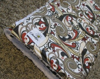 Western Paisley Blanket CLEARANCE