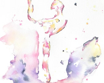 Ballerina, Dance Art, Dancer Painting, Pointe Shoes, Dance, Ballet Dancer