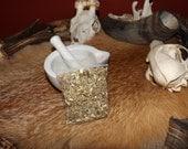 Mugwort -  wild harvested pagan heathen witchcraft hedge witch wicca spirituality herbalism