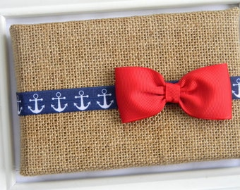 Nautical Headband - Baby Girls Headband - Toddler Headband - Girls Headband