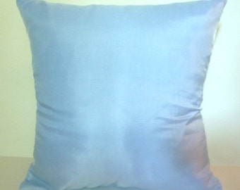 Light Blue Pillow Cover Accent Throw 3 sizes