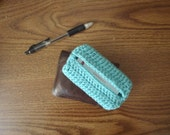 Crochet Business Card Holder (Custom)