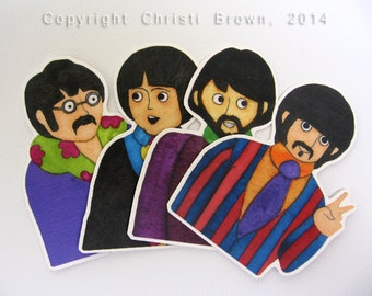 The Beatles Cake Toppers Uk