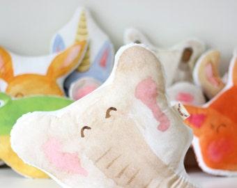 Elephant Cushion Printed