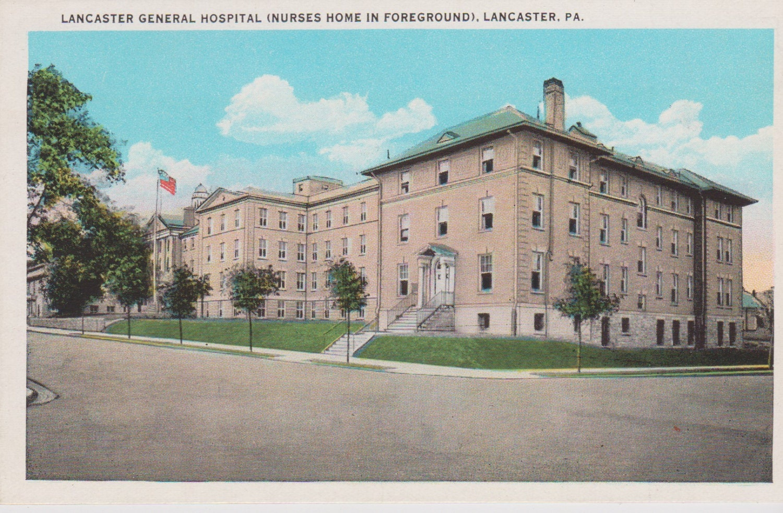 Exterior: Lancaster General Hospital Nurses Home Lancaster