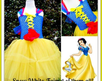 Snow White Tutu 0-2yrs 2-6yrs