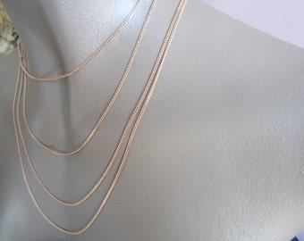 Dainty Raw Brass Curb Chain 1.6mm Links 10Ft. U. S Made