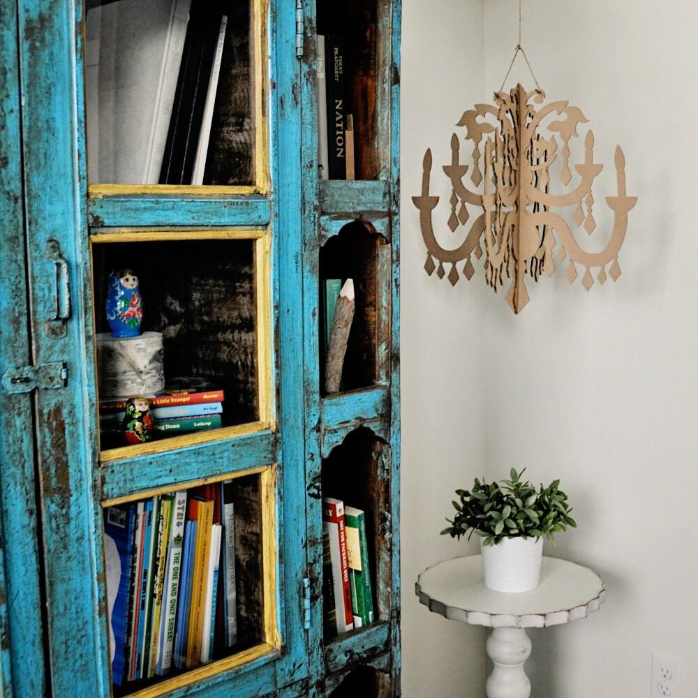 grand lustre en carton bricolage. Black Bedroom Furniture Sets. Home Design Ideas