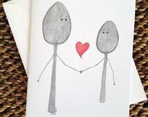 Big Spoon Little Spoon Love Card