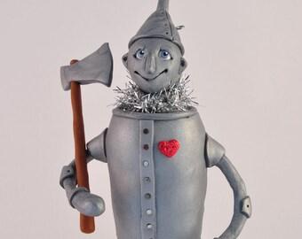 Wizard of Oz Tinman Polymer Clay Figurine
