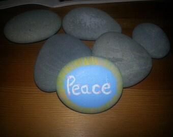 Peace Stone Magnet