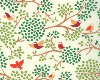 Chirp Chirp 1/2 yard cotton fabric by Momo for Moda fabric