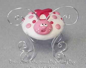 Breast Cancer Awareness Lucky Bug
