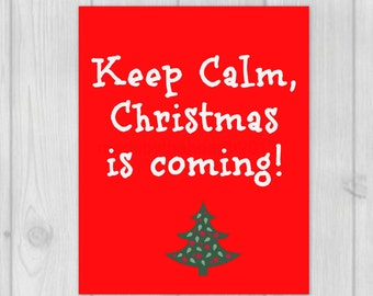 Christmas Decor, Holiday Print, Christmas Wall Art, Christmas Print, Christmas Decoration, 8x10 Art Print