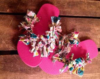 Child's Fabric Scrappy Sandals