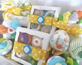 Deluxe 50 Piece Baby Shower Gift Basket Gender Neutral